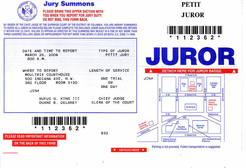 Rhode Island Federal Jury Duty