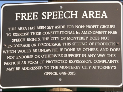 The Freedom Of Speech Speaking Plainly