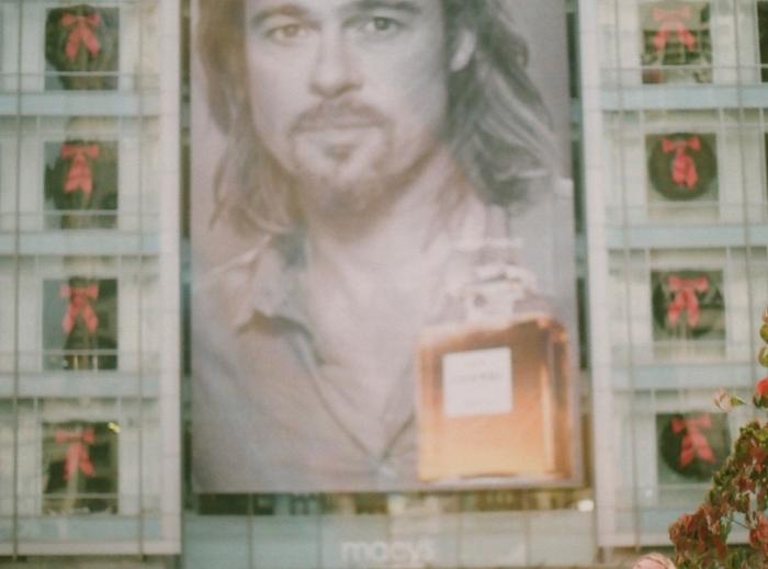 Brad as Jesus