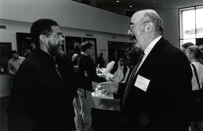 Oscar-Gandy-and-Seymour-Mandelbaum-September-1999-660x427