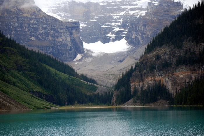 The Glacier at Lake Louise